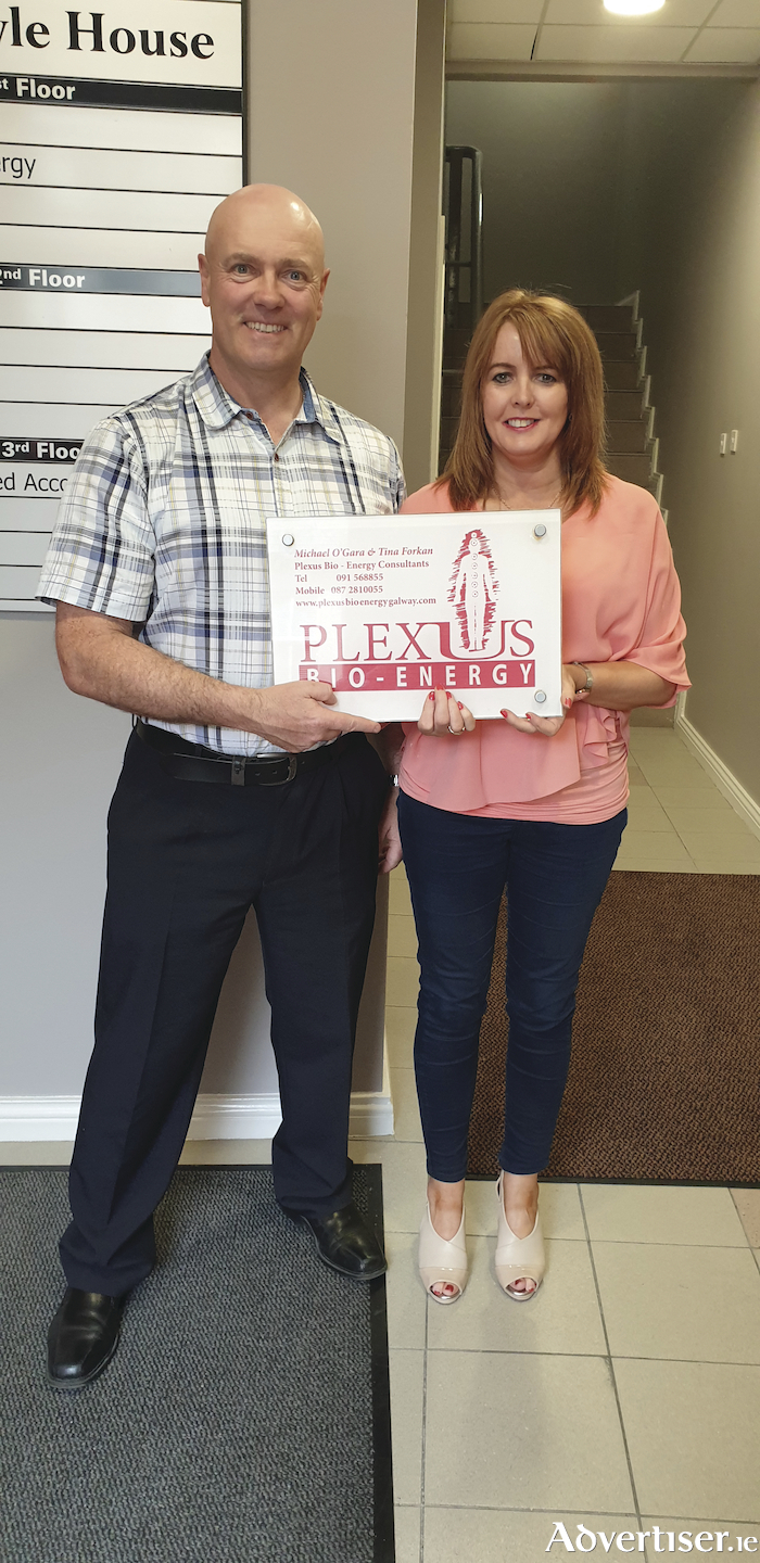 Michael O'Gara and Tina Forkan, Plexus Bio Energy.