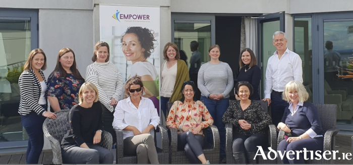 EMPOWER Growth - west of Ireland female entrepreneur programme. Pictured are the participants on the final day in the Galmont in Galway last week.