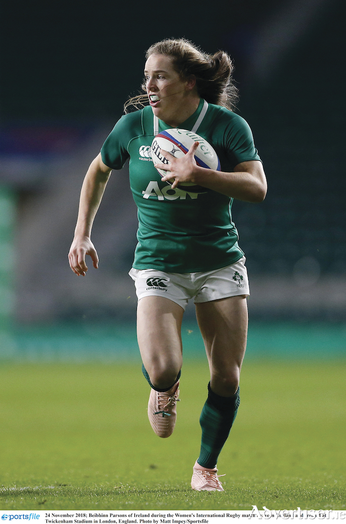 Connacht will be looking to Beibhinn Parsons in attack after the winger scored three tries against Munster.