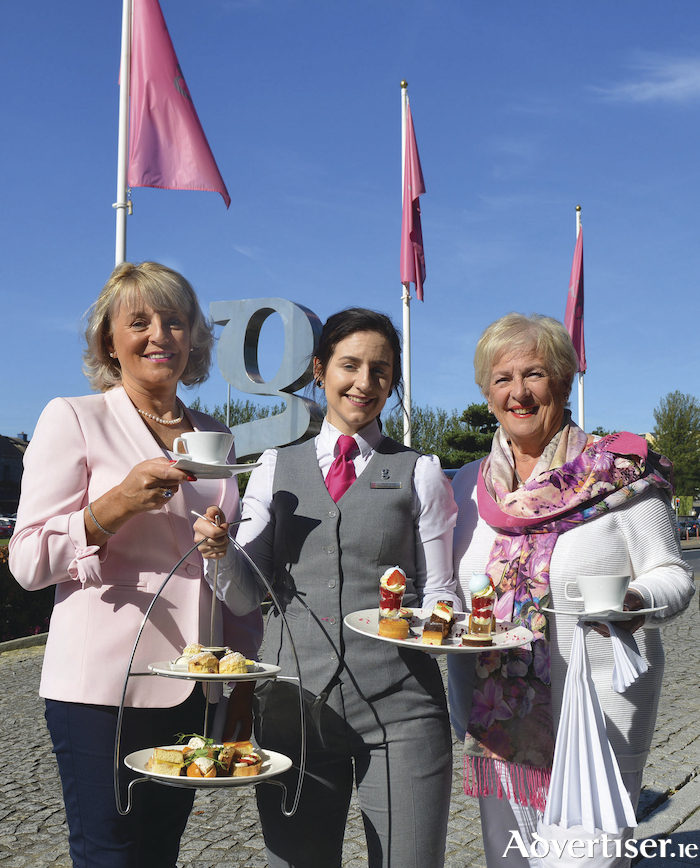 At the launch were Maura Doyle from Tom Doyle Motors event sponsor, Aoife Kelly of the g Hotel and Johanna Downes National Breast Cancer Research Institute Galway fundraising committee.    Photo: Tom Taheny