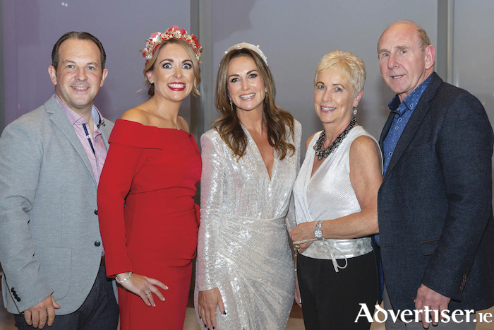 "Shane McLoughlin, Ann-Marie Duggan, Lorraine Keane, Margaret and Jim Burke, GoBus.ie pictured at ""Sparkle at the g"" in aid of Tomorrow for Tomás in the g Hotel. Photo Martina Regan"