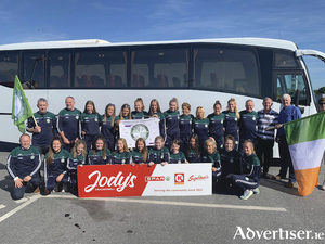 The Craughwell AC team home from their European debut in Portugal.