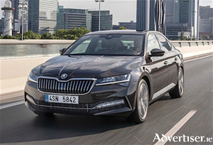 All new Skoda Superb which was launched at the National Ploughing Championships