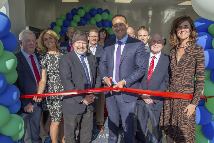 Ribbon cutting: from left to right:  Michael O'Donnell, MD, Fort Wayne Metals, IDA Ireland Executive Director Mary Buckley, Fort Wayne Metals CEO Scott Glaze, An Taoiseach Leo Varadkar, Minister of State Michael Ring TD and Seantor Michelle Mulherin pictured cutting the ribbon on Fort Wayne Metals new manufacturing facility in Castlebar on Friday last.