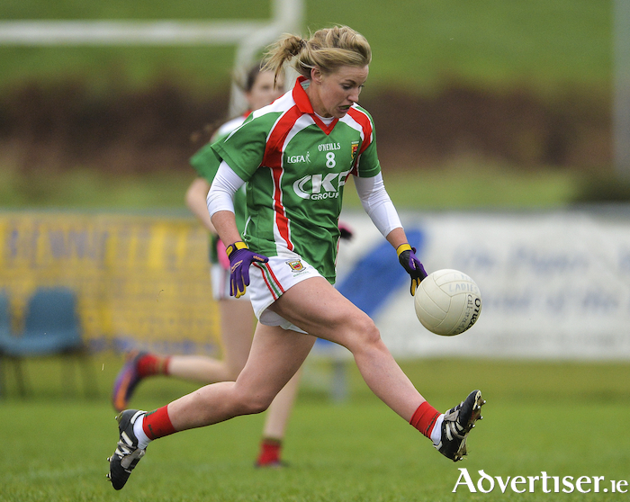 On the hunt again: Fiona McHale and her Carnacon team will be looking to get back to another Mayo Ladies Senior Football Championship Final. Photo: Sportsfile