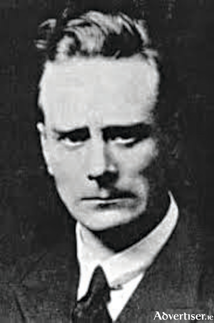 Liam Mellows: 'his weakness was due to starvation.'