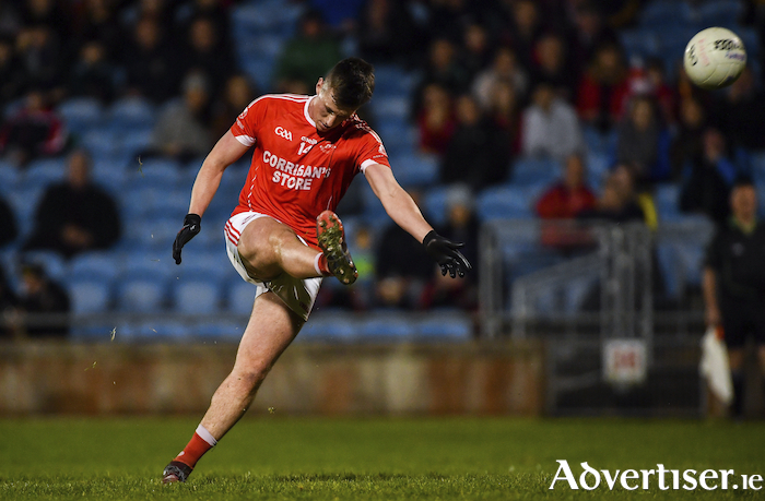 Up and over: Ballintubber will be looking to the likes of Cillian O'Connor to lead them this weekend. Photo: Sportsfile