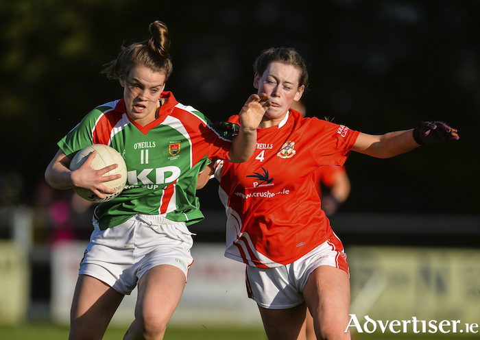 Six of the best: Amy Dowling hit six points for Carnacon in their semi-final win over Hollymount. Photo: Sportsfile