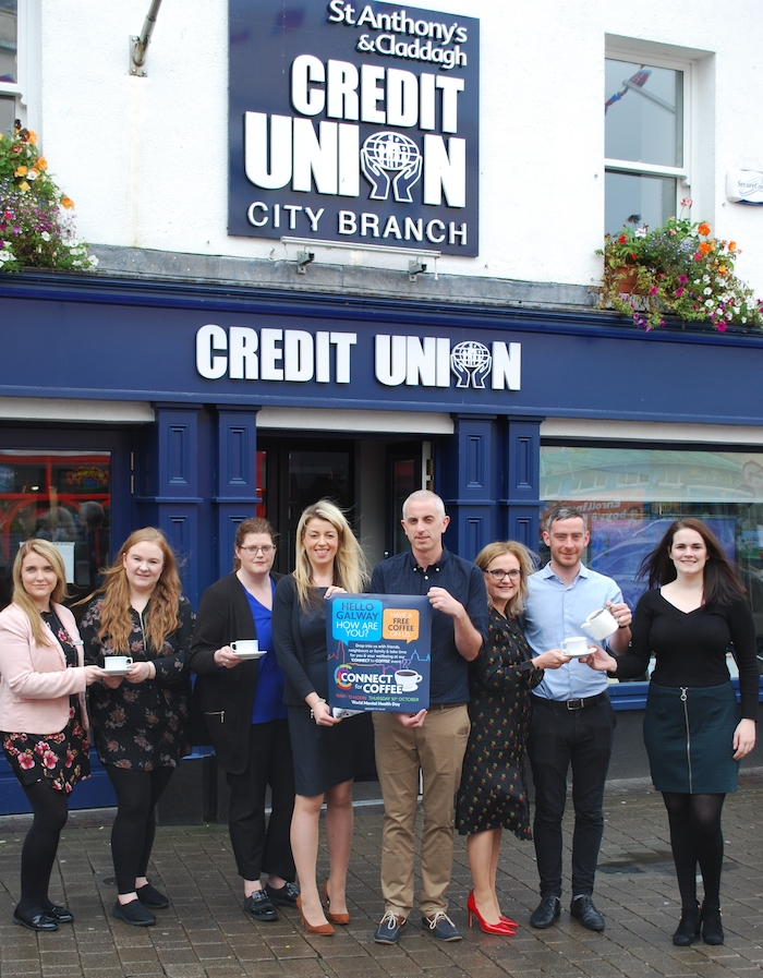 Pictured at the launch of Connect for Coffee Morning are Aisling Reardon of The G Hotel;