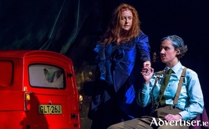 Mary Coughlan and Molly O'Mahony in Woman Undone. Photo:- Simone Rudolphi