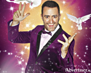 Magician, Joe Daly, will perform his all action live show at Tuar Ard on Sunday, October 20