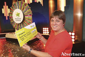Moate native, Kathleen Clavin, who won 62,000 euro on the RTE game show Winning Streak on Saturday night