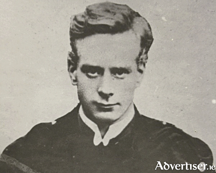 The young Liam Mellows at the time of the Easter Rising.