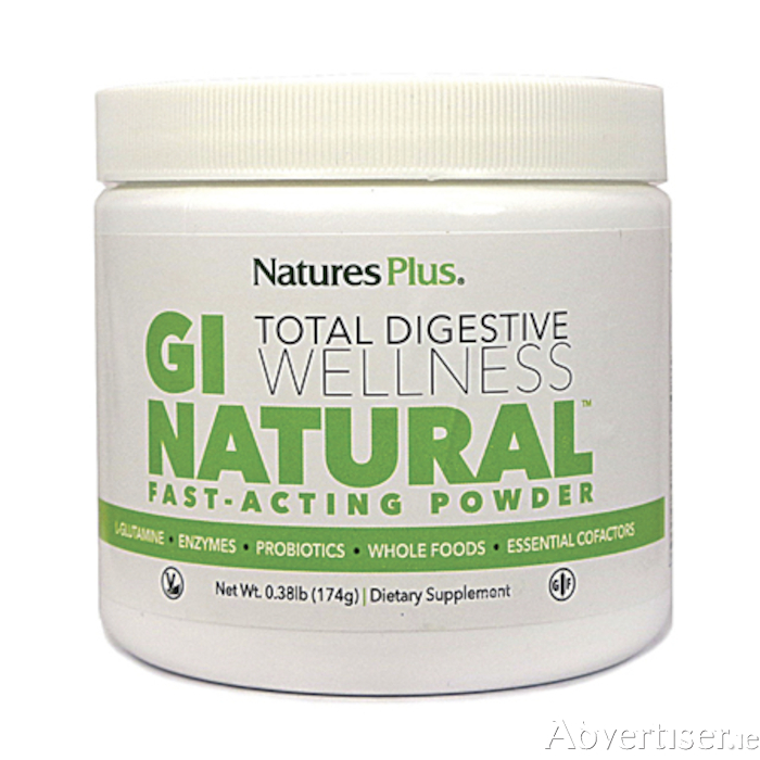 GI Natural Total Digestive Wellness is now available from Au Naturel, Irishtown, Athlone