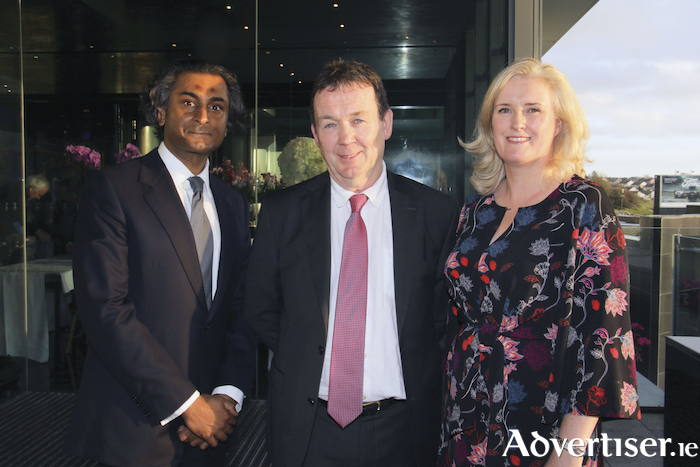 The Society of Construction Law hosted a conference in Galway on Thursday /Making Claims for Time and Money,  Attending the event were speakersm Dr Hamish Lal, Terry McLoughlin and Denise Kennedy.