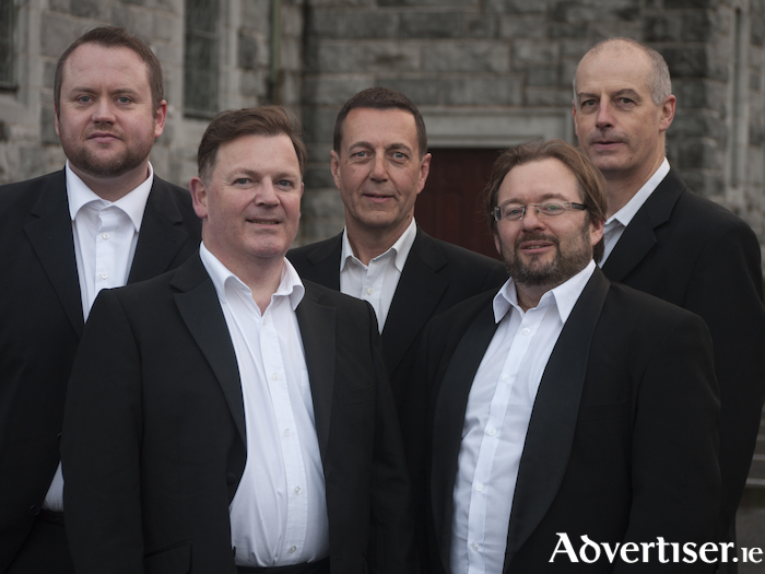 The A Capella Knights members Brian Hickey, Keith Davies, Francis Casey, Mike Davenport, and Gary McDonald return for their annual Christmas concert in aid of the Simon  Community.
