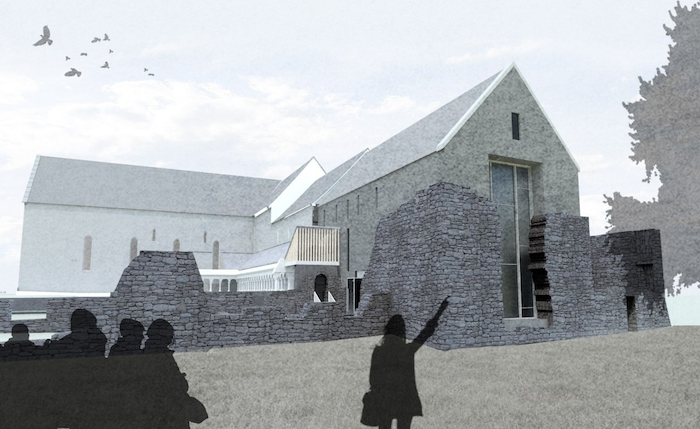 Ballintubber Abbey was one of three projects granted funding this week. Photo: Ballintubber Abbey