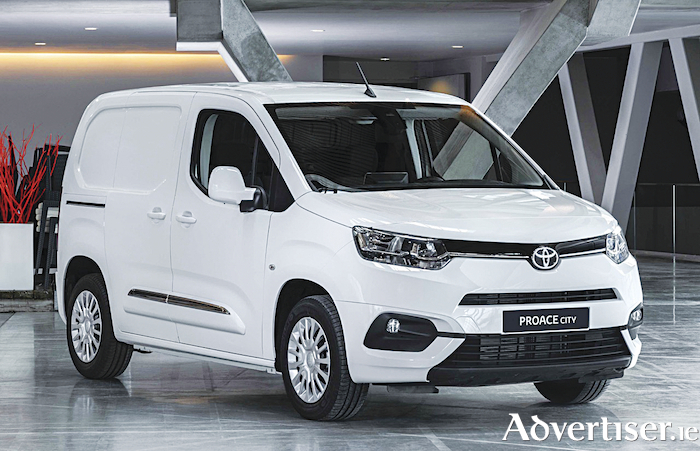 The new Toyota Proace van.