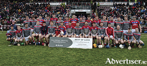 St Thomas,  winners of the Salthill Hotel Senior Hurling Championship, at Pearse Stadium on Sunday.