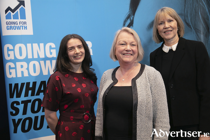 Pictured were Jacinta Shinnock, KPMG, Siobhán NíChofaigh, Mint Tek Circuits Ltd, Galway and Sheila Daly, Enterprise Ireland. Pic Orla Murray/ SON Photo