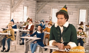 Will Ferrell in Elf.