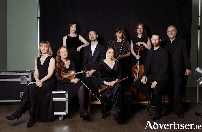 Irish Baroque Orchestra. Photo:- Sarah Doyle