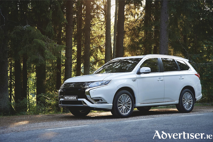 The Mitsubishi Outlander,