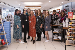 Staff at Carraig Donn, Castlebar who will be hosting a Christmas event on Wednesday, December 4.