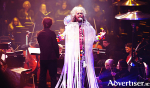 The Flaming Lips performing at Red Rocks. Photo:- Shannon Shumaker