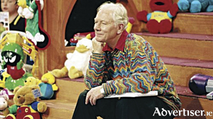 The late Gay Byrne and the popular Christmas Toy Show which he introduced in the early 1970s.