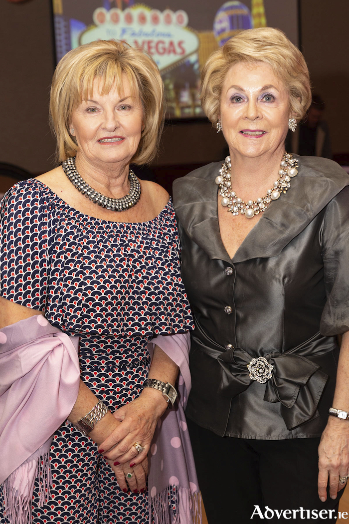 Noranne McMahon and Carolyn Sheils pictured at the Ocean Fitness 10th Birthday celebrations. Photo Martina Regan