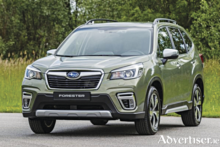 "The new Subaru Forester e-Boxer - 'safe, capable and reliable""."