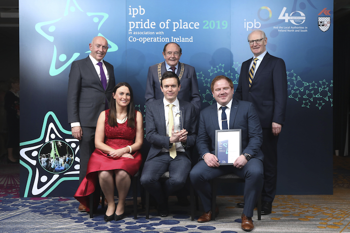 Ballinrobe were winners at the IPB Pride of Place Awards