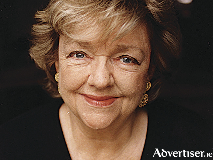 Maeve Binchy  - wanted to be a saint.