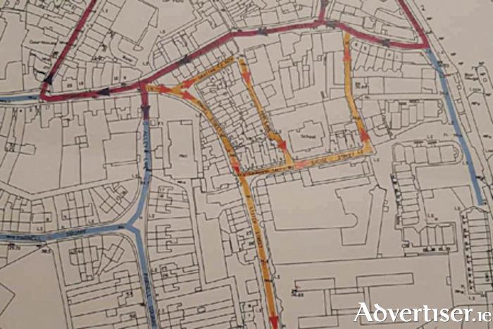 A new one way traffic flow system will be implemented on the west side of Athlone