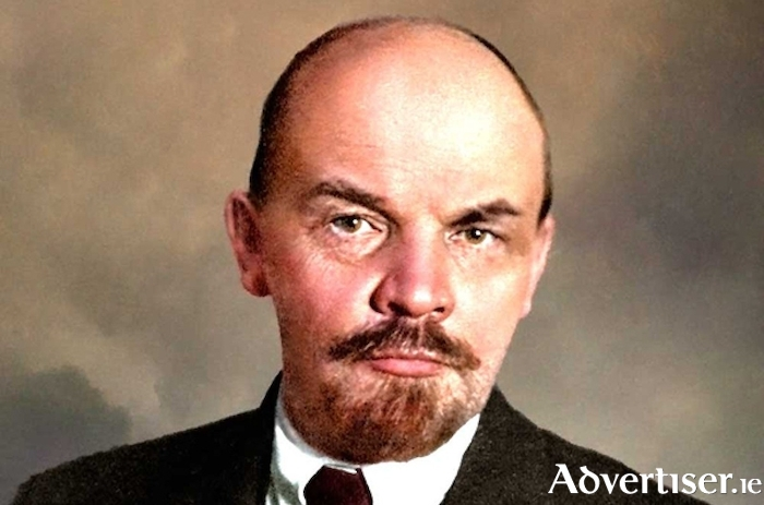 Lenin - a favoured subject of a conspiracy theorist character in Mary Byrne's new short story collection.