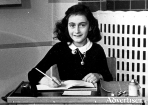 Anne Frank photographed in 1940.