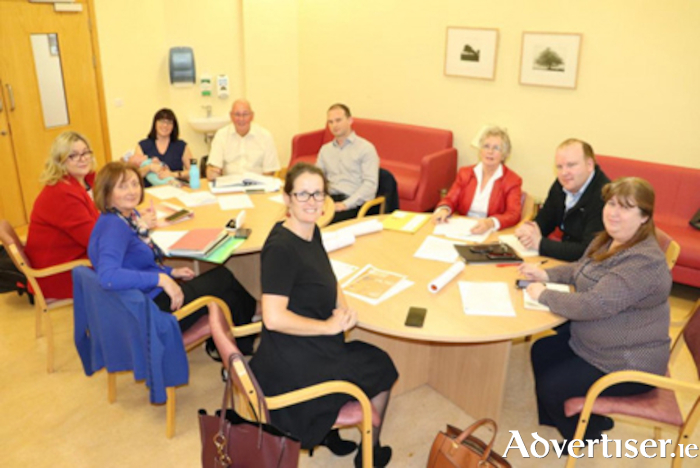 South Westmeath Hospice committee members meet have reinstated their 'Save Your Hospice' campaign as alack of meaningful interaction with the HSE continues