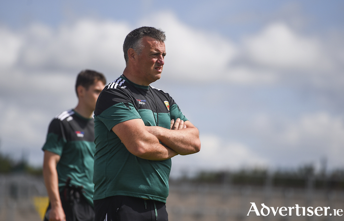 Back on the road: Mayo Ladies manager Peter Leahy will put his side back into competitive action for the first time this year on Sunday. Photo: Sportsfile