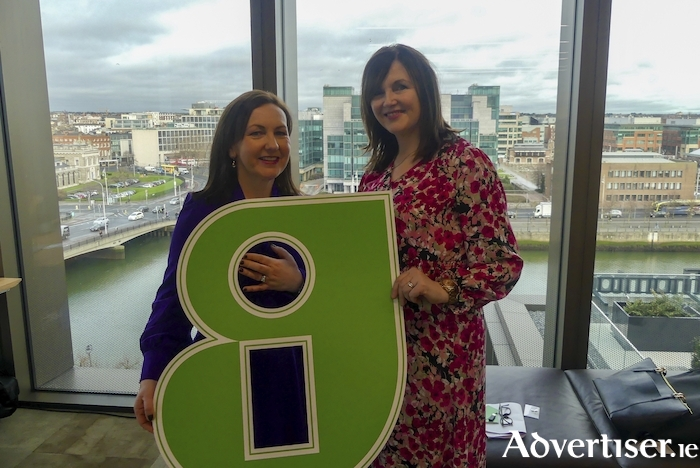 Pictured(L-R) at a Guaranteed Irish breakfast meeting in Dublin (Thursday January 30) are l- Brid O'Connell, CEO Guaranteed Irish and Brenda Dooley, CEO AXIS Healthcare Consulting.