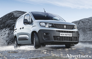 The Peugeot Partner - Ireland's best seller in January.