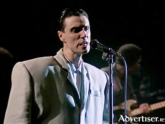 Talking Heads' David Byrne from the 1984 concert film, Stop Making Sense.