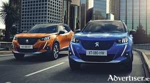 Striking a pose: The new Peugeot 2008 SUV.