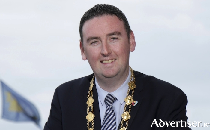 The Mayor of Galway, Independent Galway City Central councillor, Mike Cubbard.