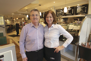 Gerry and Brid McSweeney of GBC Coffee Shop & Restaurant. Photo: Mike Shaughnessy