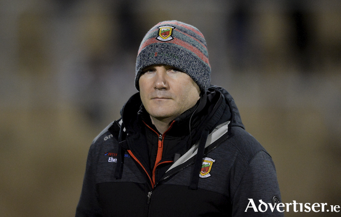 Looking ahead: Mayo manager James Horan is hoping that he will be able to get some game time into a few players who have yet to feature this year for Mayo. Photo: Sportsfile.