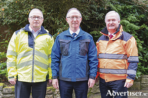 Portwest directors Owen, Harry and Cathal Hughes.