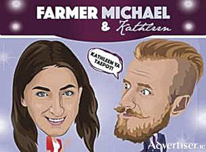 Farmer Michael and Kathleen bring their nationwide tour to The Prince of Wales Hotel on Saturday, April 18
