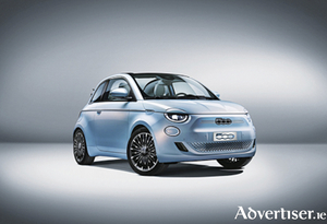 The new Fiat 500 is the first fully electric car from Fiat Chrysler Automobiles.