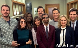 The cast of Parks and Recreation are here to give yo a laugh during the Covid-19 restrictions.